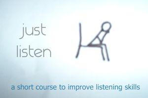 Just Listen - web